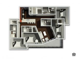D4 Floor plan layout