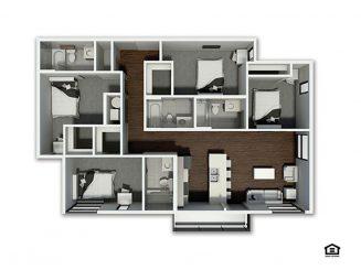 D5 Floor plan layout